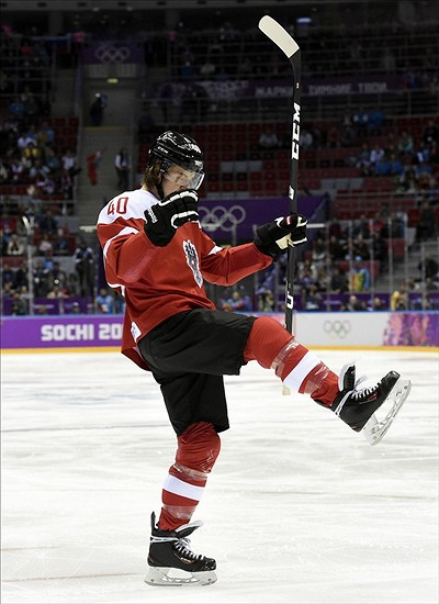 Michael Grabner Shines In Preliminary Round For Team Austria