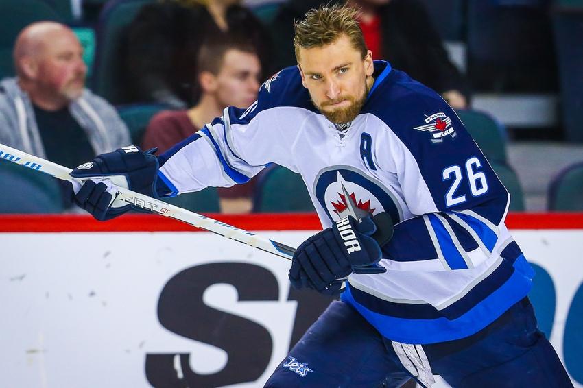 sale retailer 2e133 eb856 Winnipeg Jets F Blake Wheeler Named Team Captain