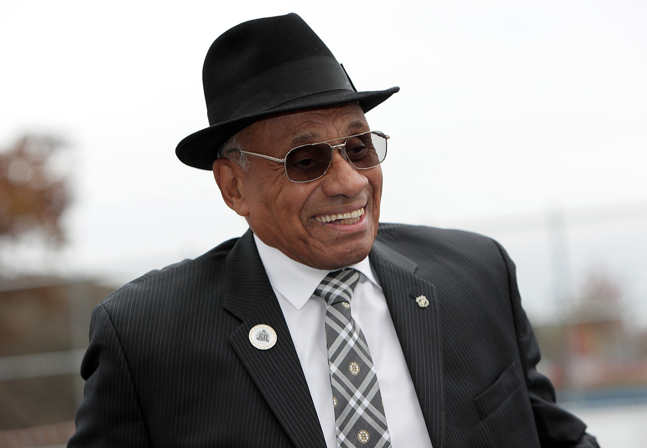 Boston Bruins: Willie O'Ree a candidate for congressional ...