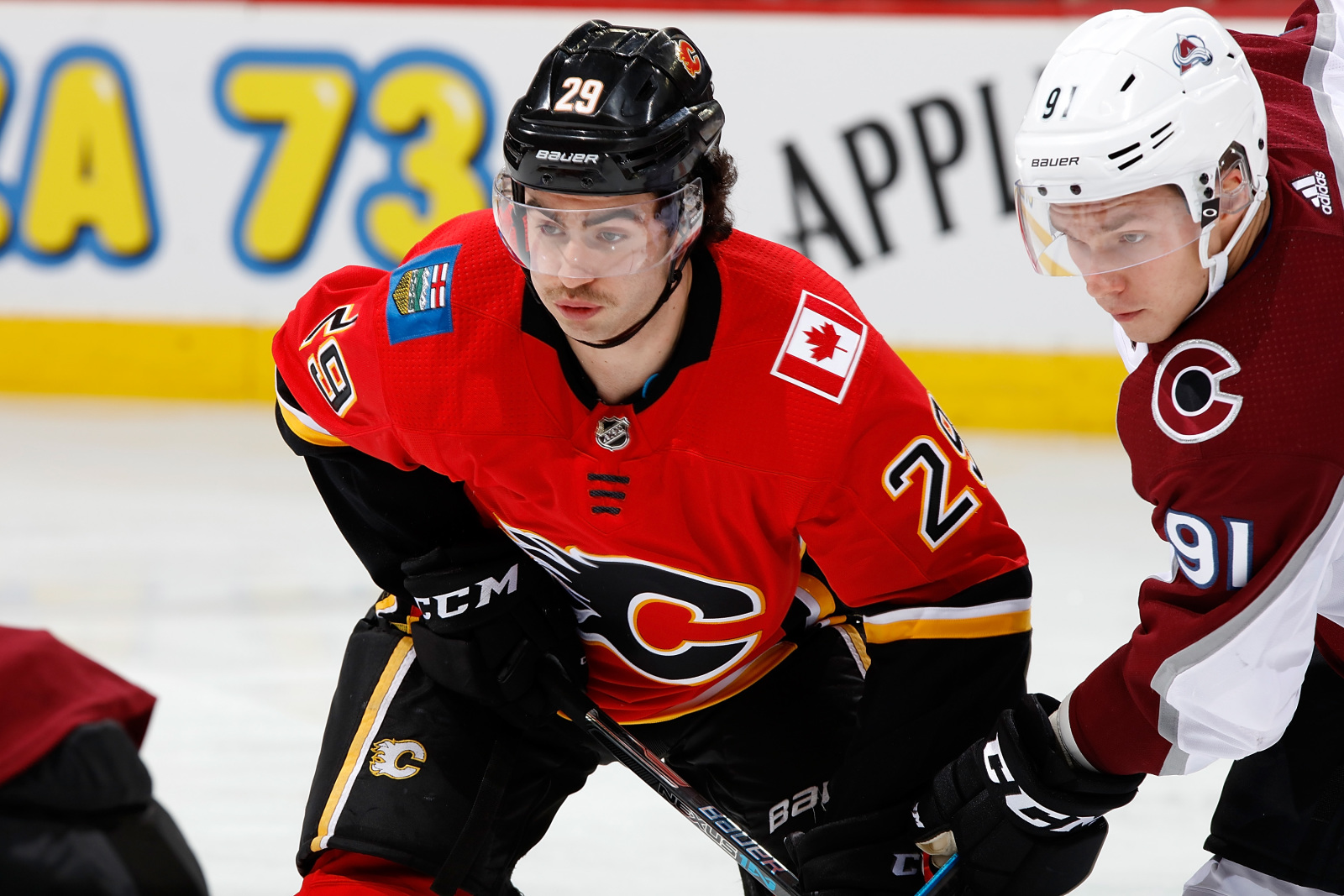 Calgary Flames Are Embracing Social Distancing