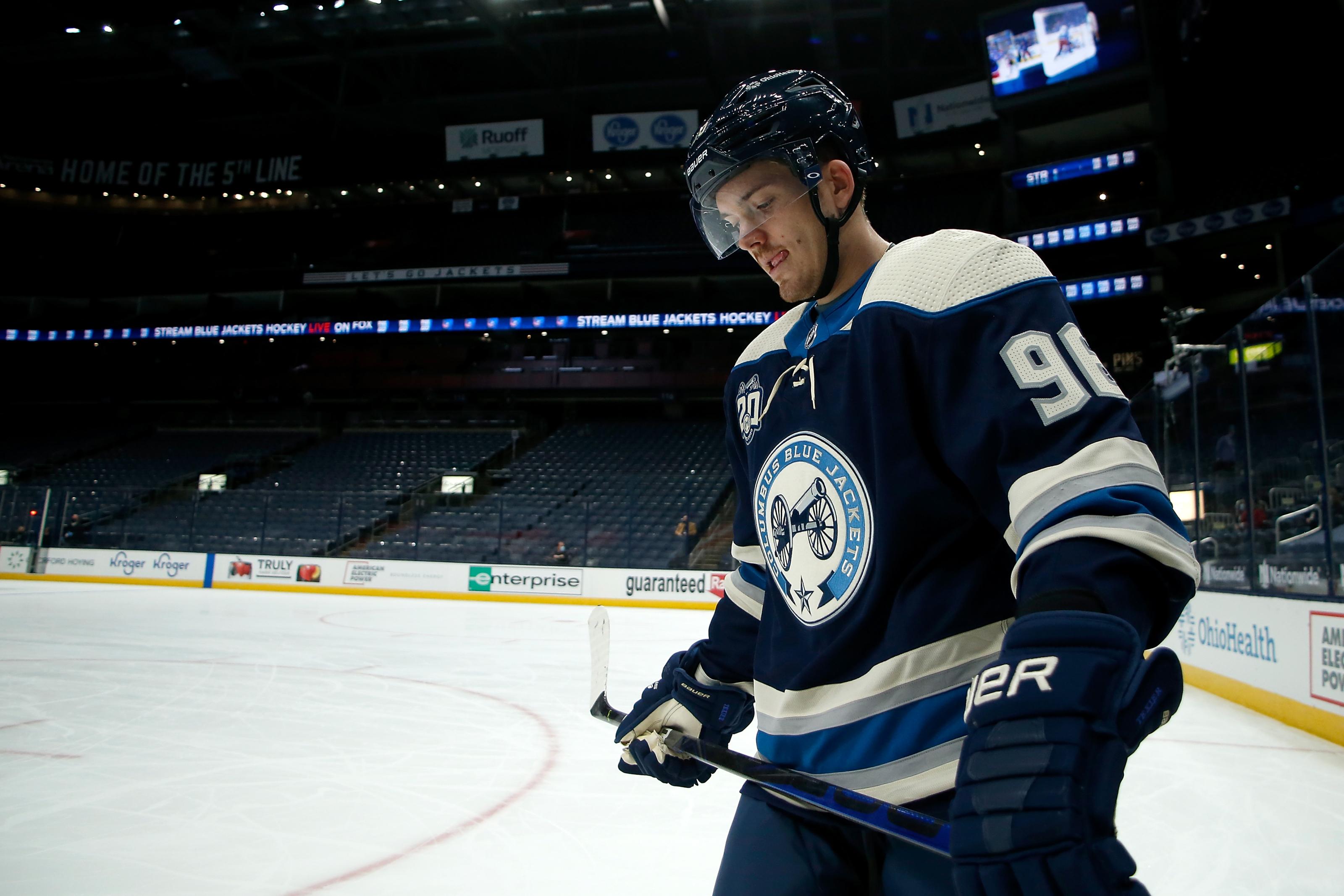 Jack Roslovic Winnipeg Jets Player Swingman Jersey