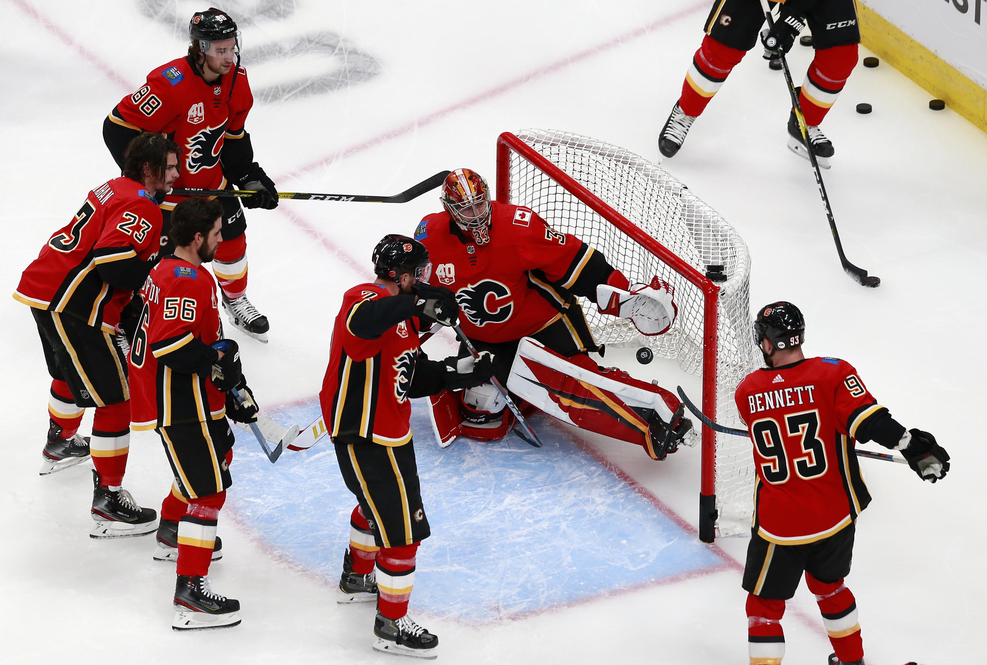 Calgary Flames Beat Down Winnipeg Jets To Take Game 1