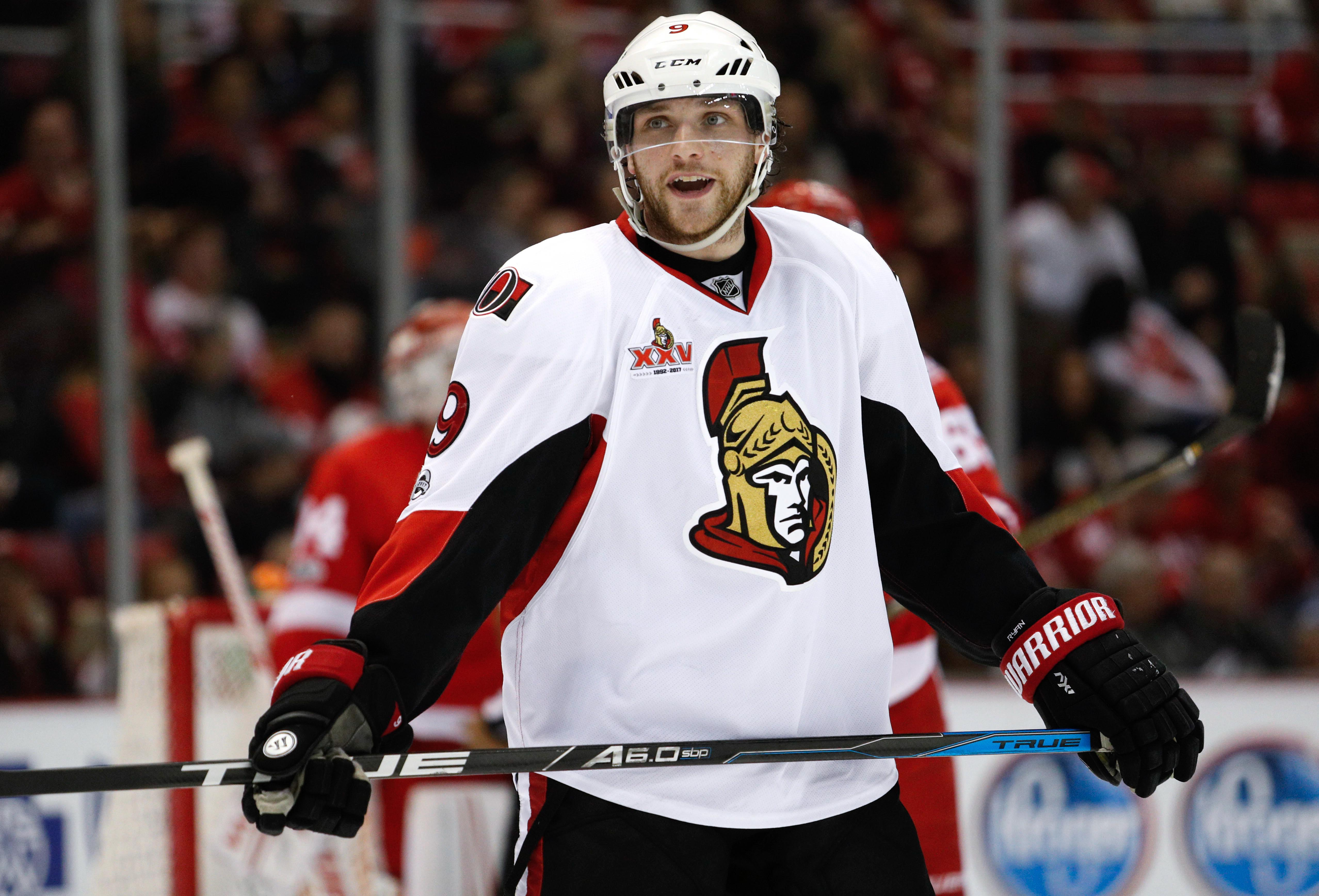 huge discount 99cf7 7df00 Ottawa Senators: Bobby Ryan's Playoff Play Vital to Team's ...
