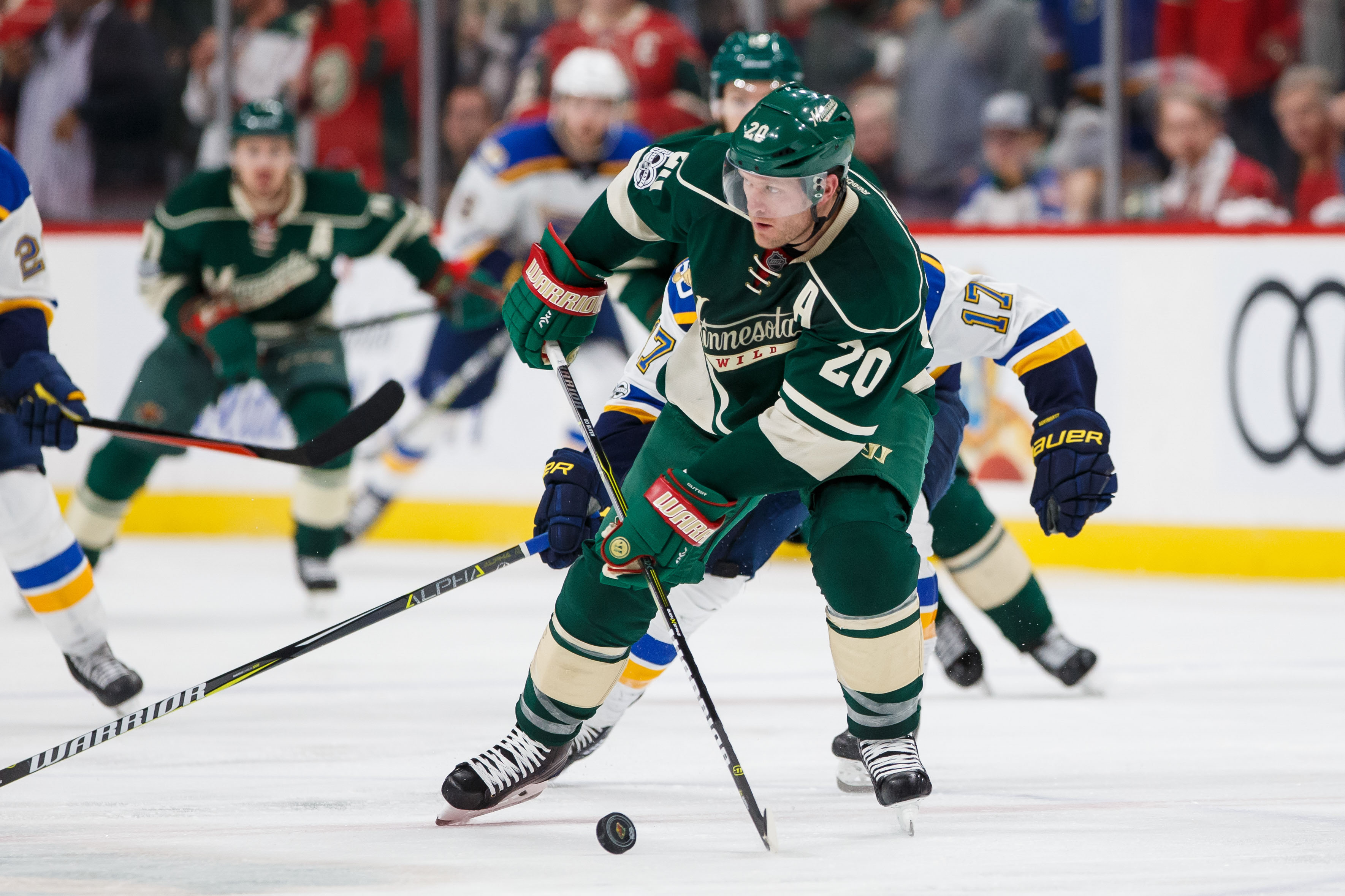 2017 stanley cup playoffs how to fix the minnesota wild minnesota wild defenseman ryan suter 20 skates with the puck brad rempel usa today sports publicscrutiny Choice Image